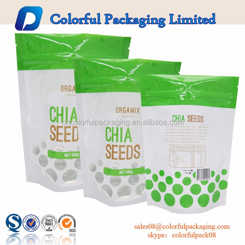 corn seeds packing bags/sun flower seeds plastic packaging bag/plastic bags zip