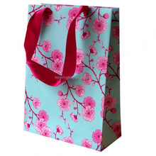 China Supply Custom Printed Paper Bag Fancy Paper Packaging Bags with Handles Made in China