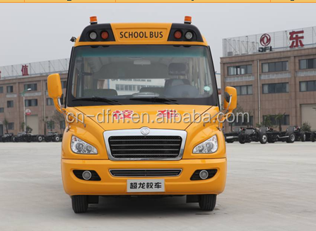 Chinese brand new 160hp yellow school bus
