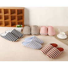 Five Colors Indoor Slippers Winter Slipper Cotton Closed Toes Slipper in Stock