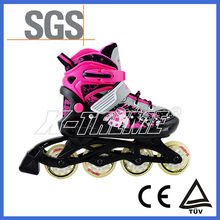two wheel roller electric flash light inline skate shoes