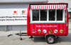 coffee tuk tuk remorques de restauration chine fiberglass cargo trailer kiosk mall ice cream