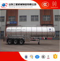 2016 china new product Aluminium tank trailer truck fuel tankers for sale