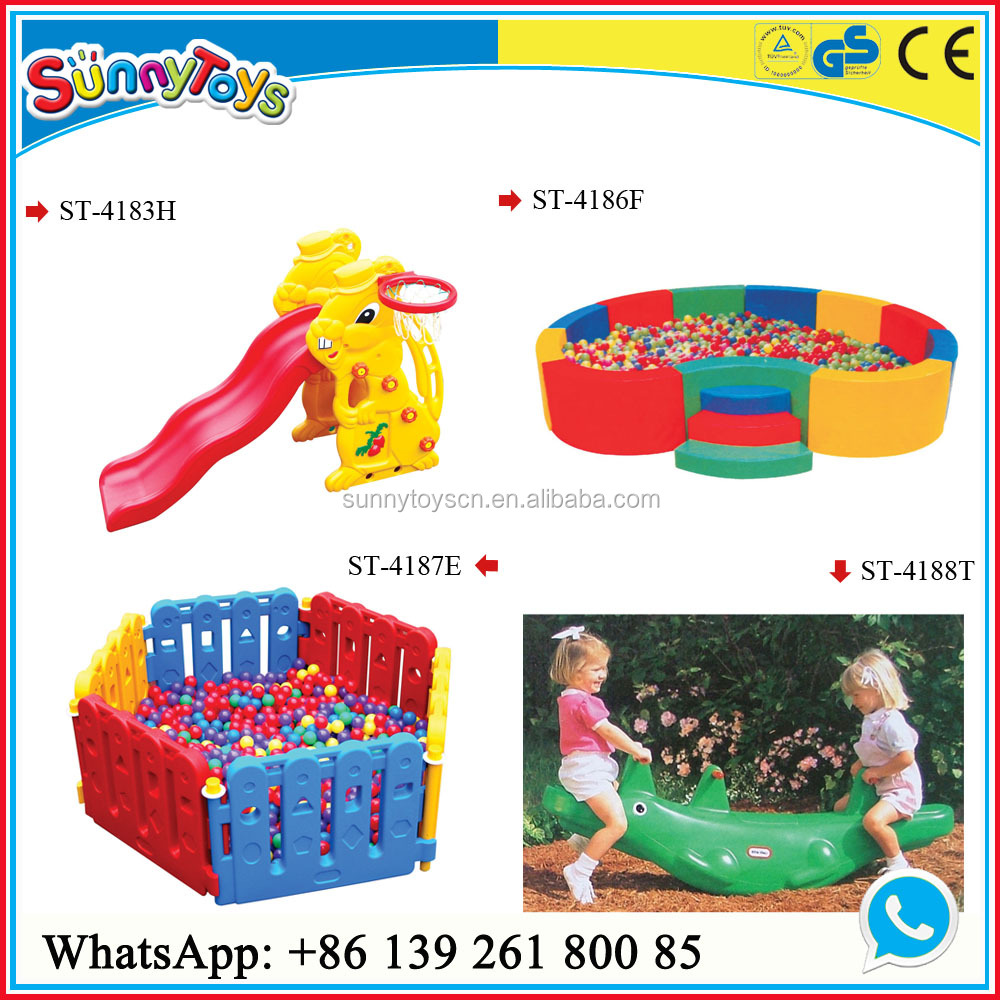 Playground kids school indoor plastic small slice/plastic slide