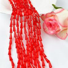 Fashion <strong>Pujiang</strong> 4*8 MM Crystal Glass Tower Beads Manufacturers