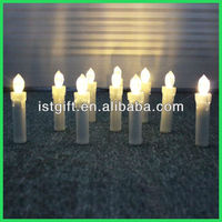 Christmas decoration flameless remote control candle light