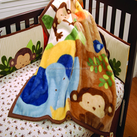 Environment Printed Baby Soft Throw Blanket