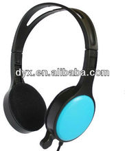 fashionable water proof leather supper bass fodable soyle headphone