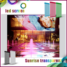Transparent Screen P15.625 p31.25 outdoor electronic Led Mesh Display