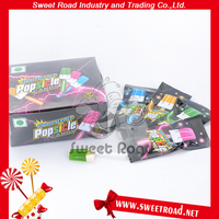 Ice-cream Shaped Glow Stick Hard Fruit Lollipop Candy