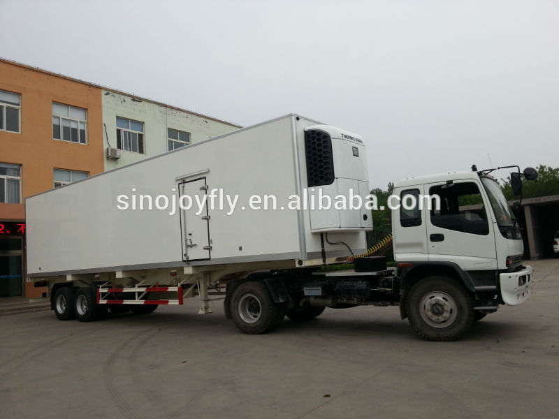 refrigerated mini truck cube van body for sale