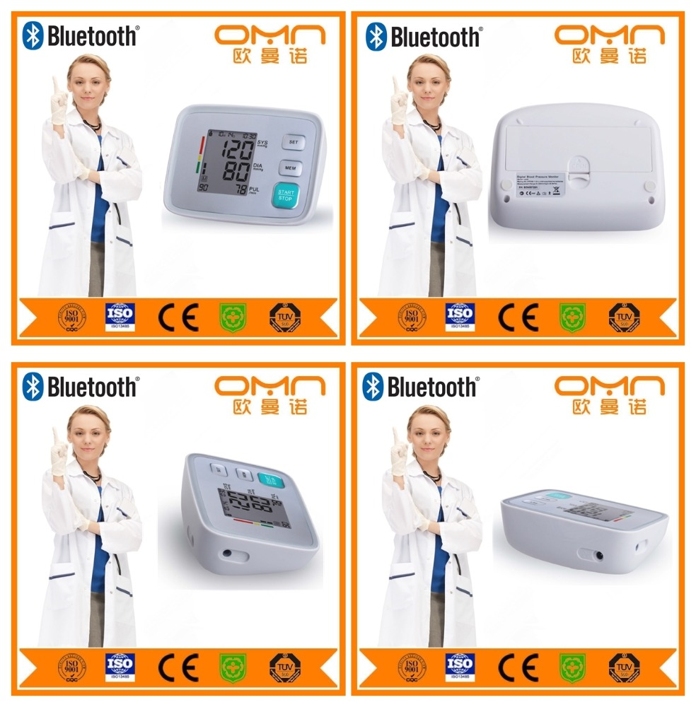 Digital wireless bluetooth home medical blood pressure measuring device