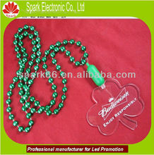 OEM design new item led flash pendant necklace