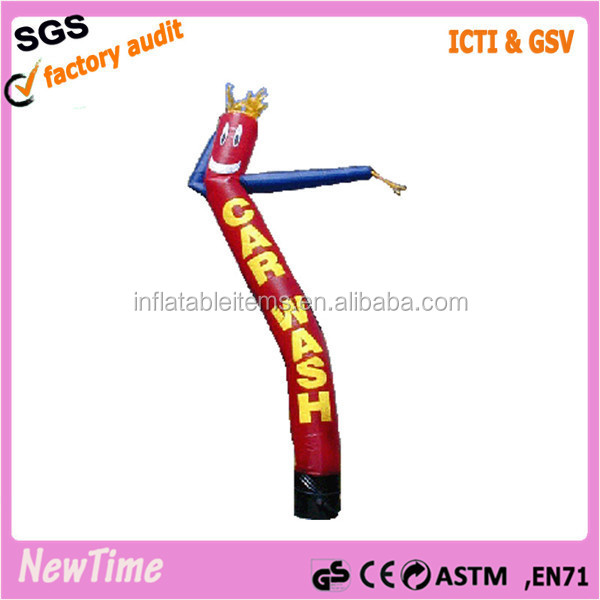 Cheap mini inflatable sky air dancer dancing man, mini desktop hammer air dancer