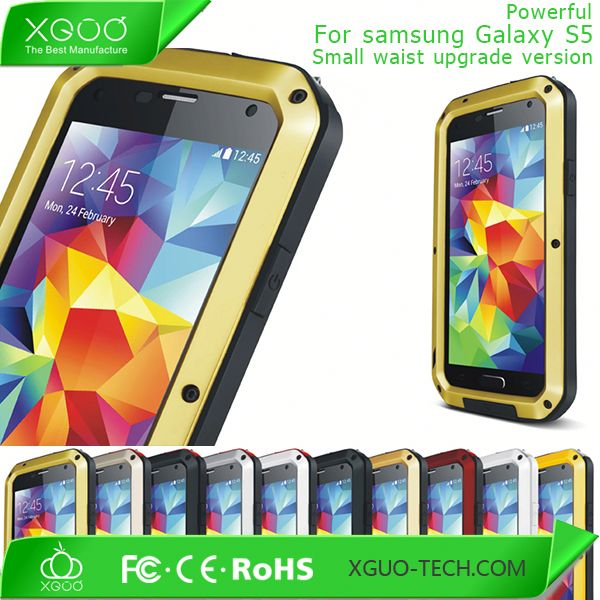 New arrival dirt proof case waterproof for samsung galaxy s5