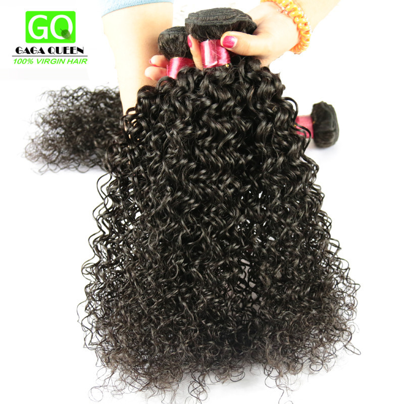 Buy Unprocessed Indian Curly Virgin Hair Remy Human Hair Extension