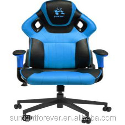 Racing Office Chair Racing Seat Style Desk Chair Home Work Sport Chair Lift Swivel PU