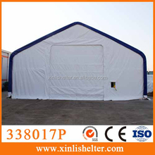 Big steel frame industrial shelter