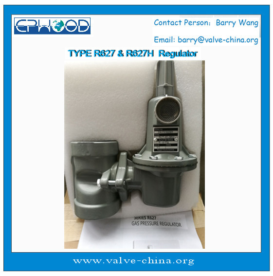 France Made Raygas TYPE R627 LPG NG Ammonia Gas Regulator like FisherRegulator 627-577