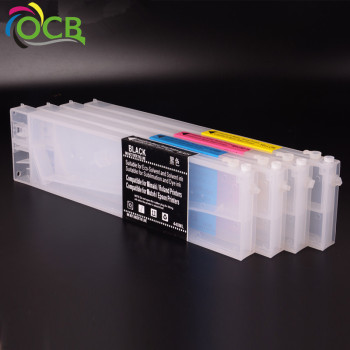 Wholesale Quotation For Roland VS420 VS300 Refillable Ink Cartridge With Permanent Chip