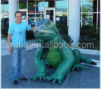 Factory direct sale customized inflatable model / inflatable lizard