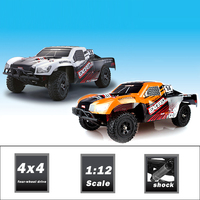 New and hot item 1/12 2.4g 4wd rc 3 speed gas car