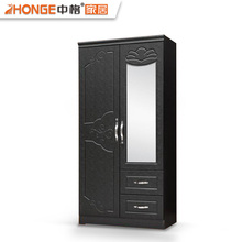 Cheap Simple Style Elegant Mirror Antique Wardrobe Closets