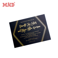 LOGO gold embossed hot foil stamped business cards