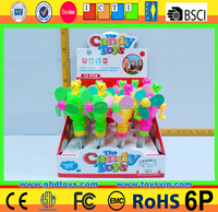 2016 new summer fan /shistle doll /3d microphone candy toys