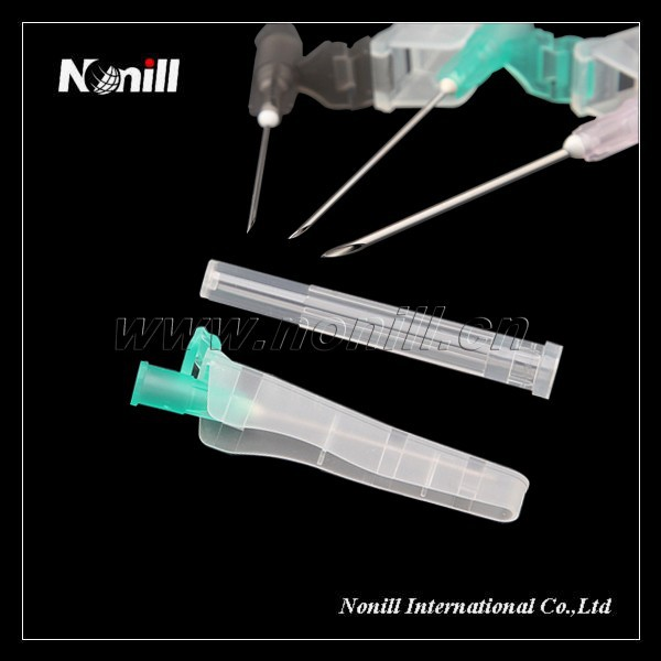 Disposable Green 21G Safety Needle
