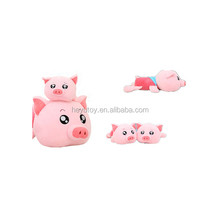 New Christmas gift new style pig, elephant plush toys dolls for kids gift with factory price