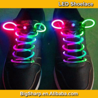 LED shoe laces,Flashing shoe laces,glow shoe laces China manufacturer led flashing shoelaces light up led shoelace SL-001