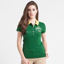 european size women's polo shirt,high quality & low price