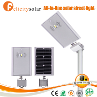 High power driveway solar light street all in one for Martinique