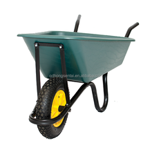 65L heavy duty lasher poly plastic bucket eco wheelbarrow for sale