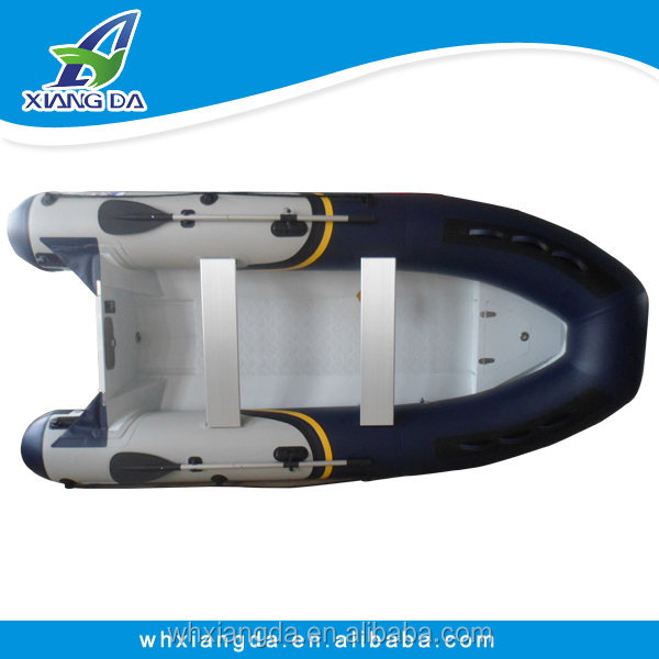 aluminum rigid hull inflatable boat for sale