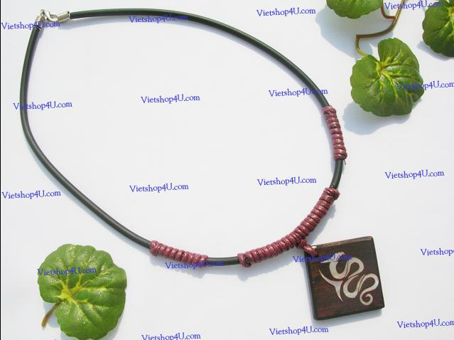 C002-Vietshop4u-Wood Beads Jewelry
