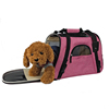 pet pocket dog carrier cat bags with big window top quality mesh airline approved