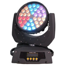Factory outlet rgbw 4in1 zoom 36x10w led moving head wash light stage light for disco