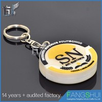 Hot sale custom key ring loop