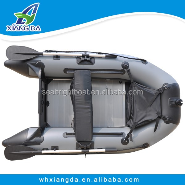 230cm 7'5'' PVC or Hypalon Hull Material Carp Fishing Foldable Inflatable Boat
