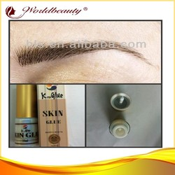 Allergy free,strong long lasting eyebrow extensions super korea glue