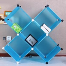 blue clear magic plastic cd dvd storage cabinet