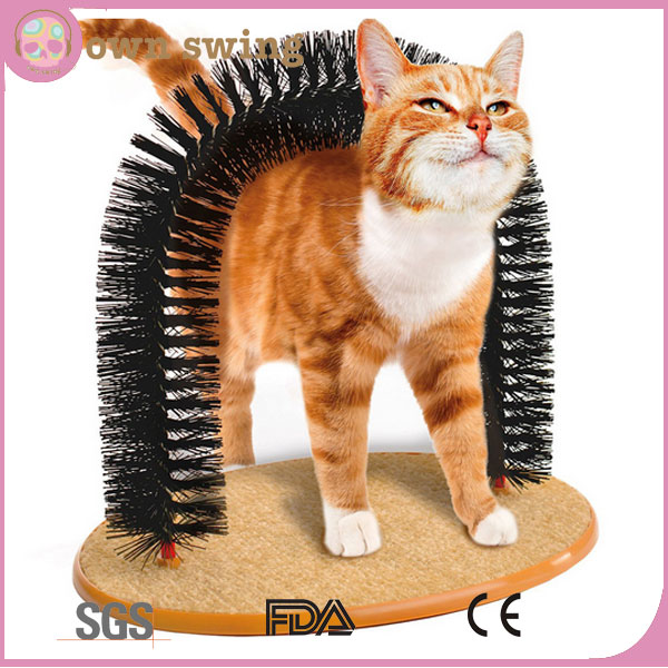 Perfect Arch Brushes Cat Training Massage Tools/pet Cat Scratch Brushes Arch/cat Rub The Hair Arch Tools