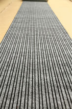 Double ribbed nonwoven PVC backing elevator outdoor mat