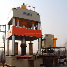 four column electric heating hydraulic press machine 1000ton