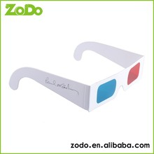 new style faddish personal passive paper 3d cinema glasses on computer