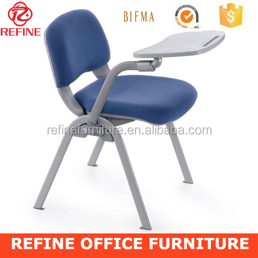 most popular heavy duty fabric school chair with writing board RF-T001F