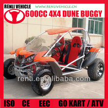 RENLI 600cc 4x4 cheap road legal dune buggy