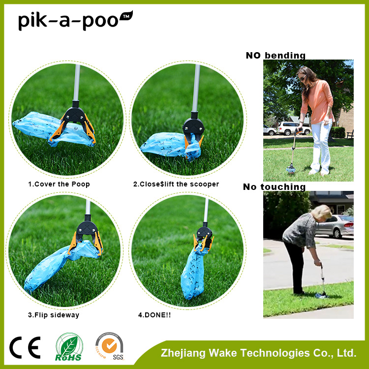 Will Not Get Dirty Touchless dog poop scooper for pet
